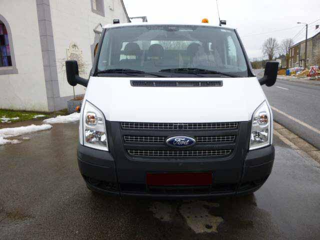 Ford Transit Simple Cabine Plateau Portevoiture T TDCI - Plateau porte voiture